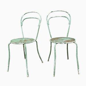 Patinierte Böhmische Stühle, 2er Set