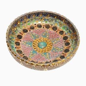 Handmade Ceramic Bowl from Hubert Bequet, 1950s