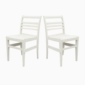 Reconstruction Chairs by René Gabriel, Set of 2