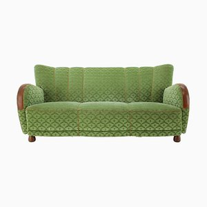 3-Seater Art Deco Sofa, Denmark, 1940s