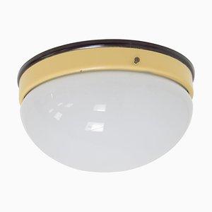 Industrial Bakelite Ceiling Light, 1950s