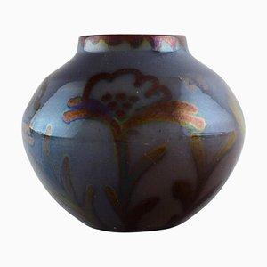 Vase in Glazed Ceramics by Edgar Böckman Höganäs