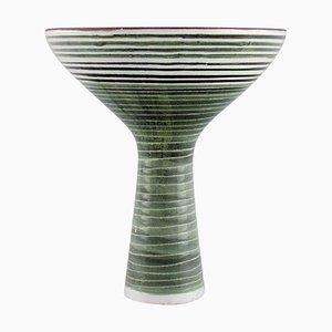 Vase aus Glasiertem Steingut von Mari Simmulson für Upsala-Ekeby