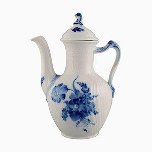 Royal Copenhagen Blue Flower Curved Coffee Pot, 1965