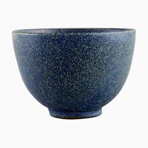 Modell Nummer 147 Schale aus glasierter Keramik von Arne Bang, 1901-1983, Dänemark