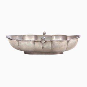 Mid-Century Scandinavian Tin Bowl by Just Andersen