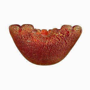Italian Murano Glass Bowl, 1960s