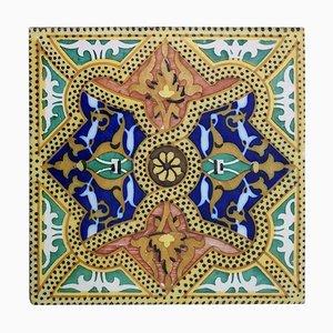 Ceramic Tiles, Onda, Spain Valencia, 1900s, Set of 6