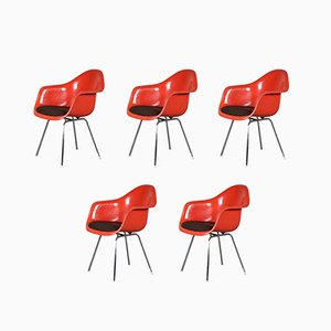 Dining Chairs by Eames for Herman Miller / Vitra, Germany, 1970s, Set of 5