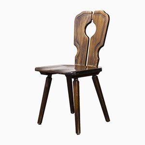 Alsace Regional Open Back Dining Chair, 1950s, Set of 12