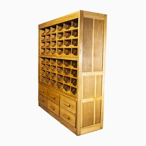 Big Double Fronted Model 1065 Haberdashery Storage Unit from Sturrock & Son, 1950s