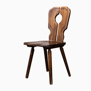 Alsace Regional Open Back Dining Chair, 1950s, Set of 8