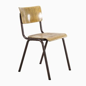 Stacking Dining Chairs with Metal Frame from Elbe, Set of 6