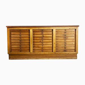 German Collectors Cabinet Chest of Drawers with 27 Drawers, 1950s