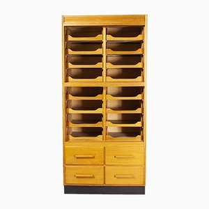 Single Fronted Haberdashery Storage Unit from Sturrock & Son, 1950s