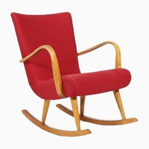 Scandinavian Modern Sculptural Rocking Chair, 1950s