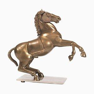 Bronze Horse Skulptur von Miguel Berrocal, 1970er