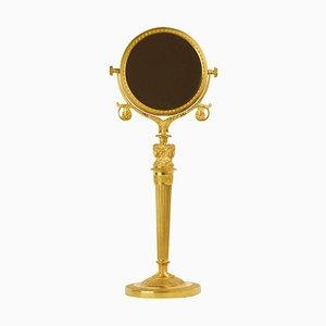 Empire Table Mirror with Female Caryatids, Paris, 1825