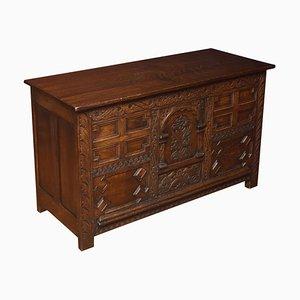 19th Century Oak Blanket Box