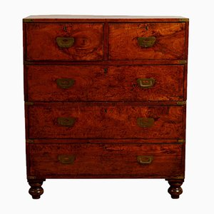 Antique Anglo Indian Campaign Chest