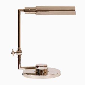 Chrome Banker's Lamp