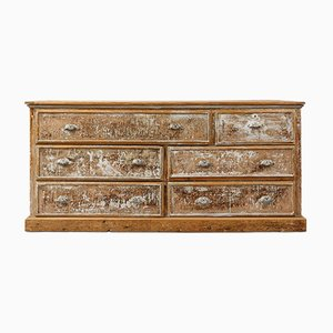 19th Century French Pine Chest of Drawers