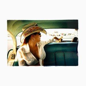 Wendy and Dolls, Las Vegas, Contemporary Portrait Color Photograph, 2001