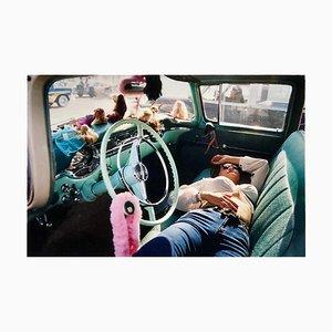 Wendy Resting, Las Vegas, Contemporary Portrait Color Photograph, 2001