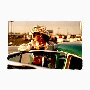 Sun Kissed Wendy, Las Vegas, Photographie Portrait Couleur Contemporaine, 2001