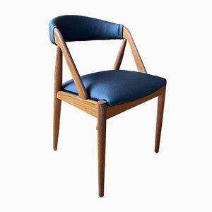 Mid-Century Danish Teak Desk Armchair by Kai Kristiansen, 1960s