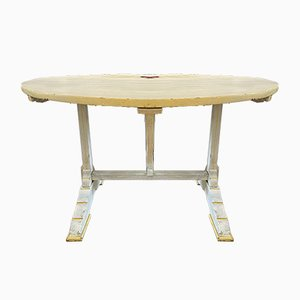 Antique French Vendange Kitchen Dining Table