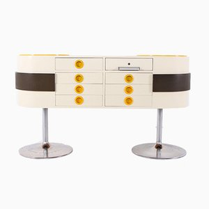 Pop Art Counter in the Style of Raymond Loewy