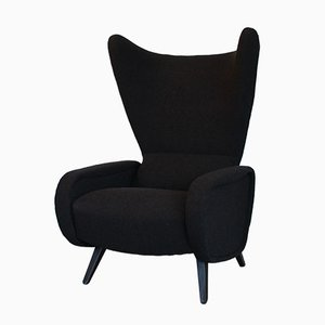 Italian Wingback Chair, 1962