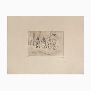 Parents et enfants by Jules Pascin