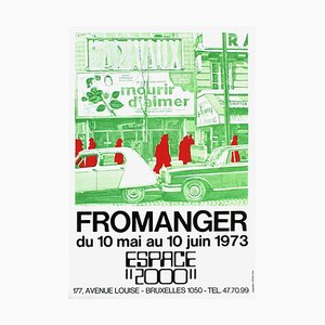 Espace 2000 73 de Gerard Fromanger