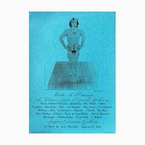 Porte-Revue Expo Galerie Jacques par David Hockney