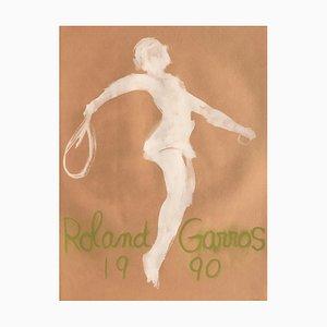 Roland Garros de Claude Garache, años 90