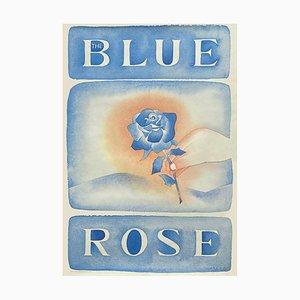 Blue Rose by Jean Michel Folon