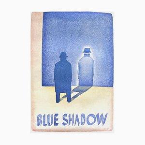 Blue Shadow by Jean Michel Folon