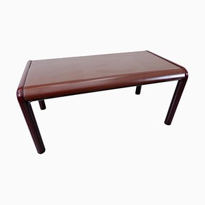 Mid-Century Modern Red Table by Gae Aulenti for Knoll International