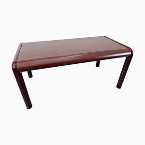 Tavolo Mid-Century moderno rosso di Gae Aulenti per Knoll International