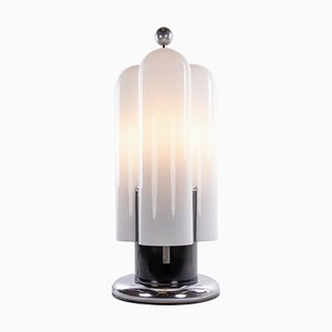 Große Italienische Murano Glas Torpedo Stehlampe von Aldo Nason, 1960er