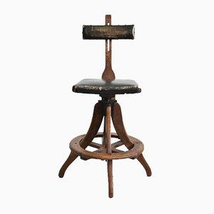 Chaise de Dessinateur Antique par R. Tyzack