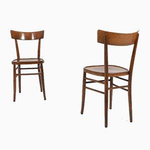 Mid-Century Italian Cafe Chair, 1950s