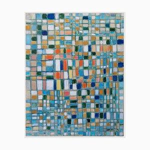 Giorgio Lo Fermo, Colored Reticulum, Oil on Canvas, 2020