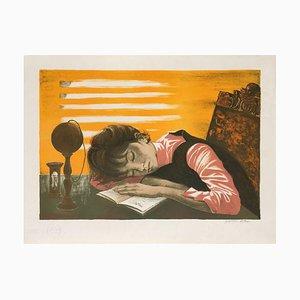 Girl Asleep by Jean-Pierre Alaux