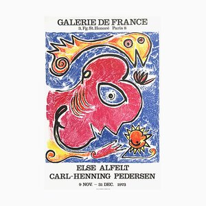 Expo 73, Galerie De France by Carl-Henning Pedersen