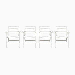 Buffalo Folding Chairs, 1970s, Set of 4