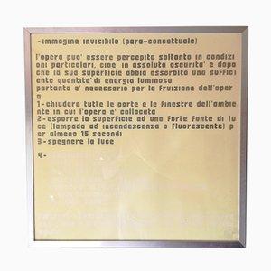 Davide Boriani, Lumineszierender Serigrafie, 1973