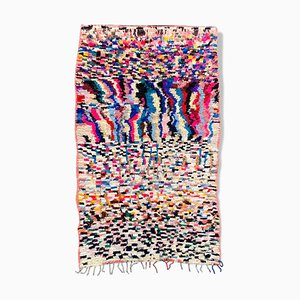Berber Boucherouite Carpet of 135 x 245 cm